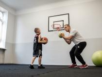Pirmie soļi basketbolā