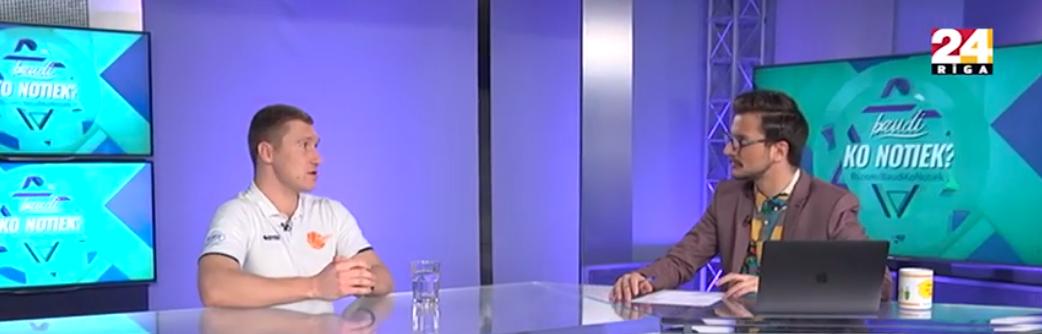 ISBS viesojas Rīga TV24