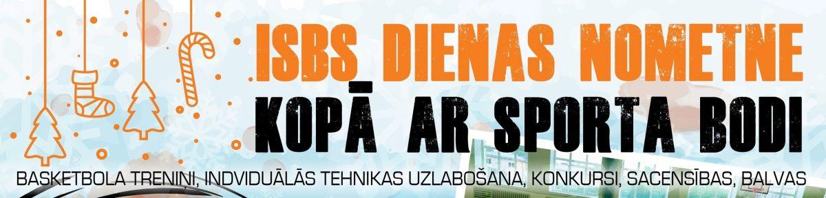 ISBS un Sporta Bodes dienas nometne