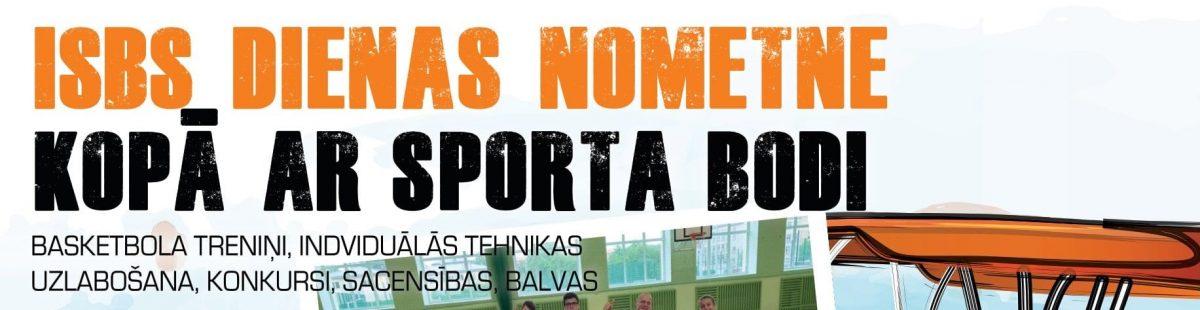 ISBS dienas nometne kopā ar Sporta bodi